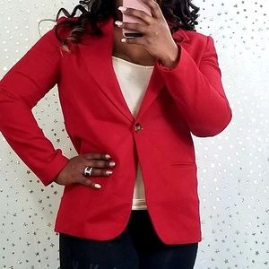Sag harbor red blazer elegant formal
